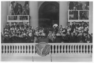 FDR and Henry Wallace at the 1943 Inaugural. Henry Wallace later proclaimed the Century of the Common Man in his famous speech.