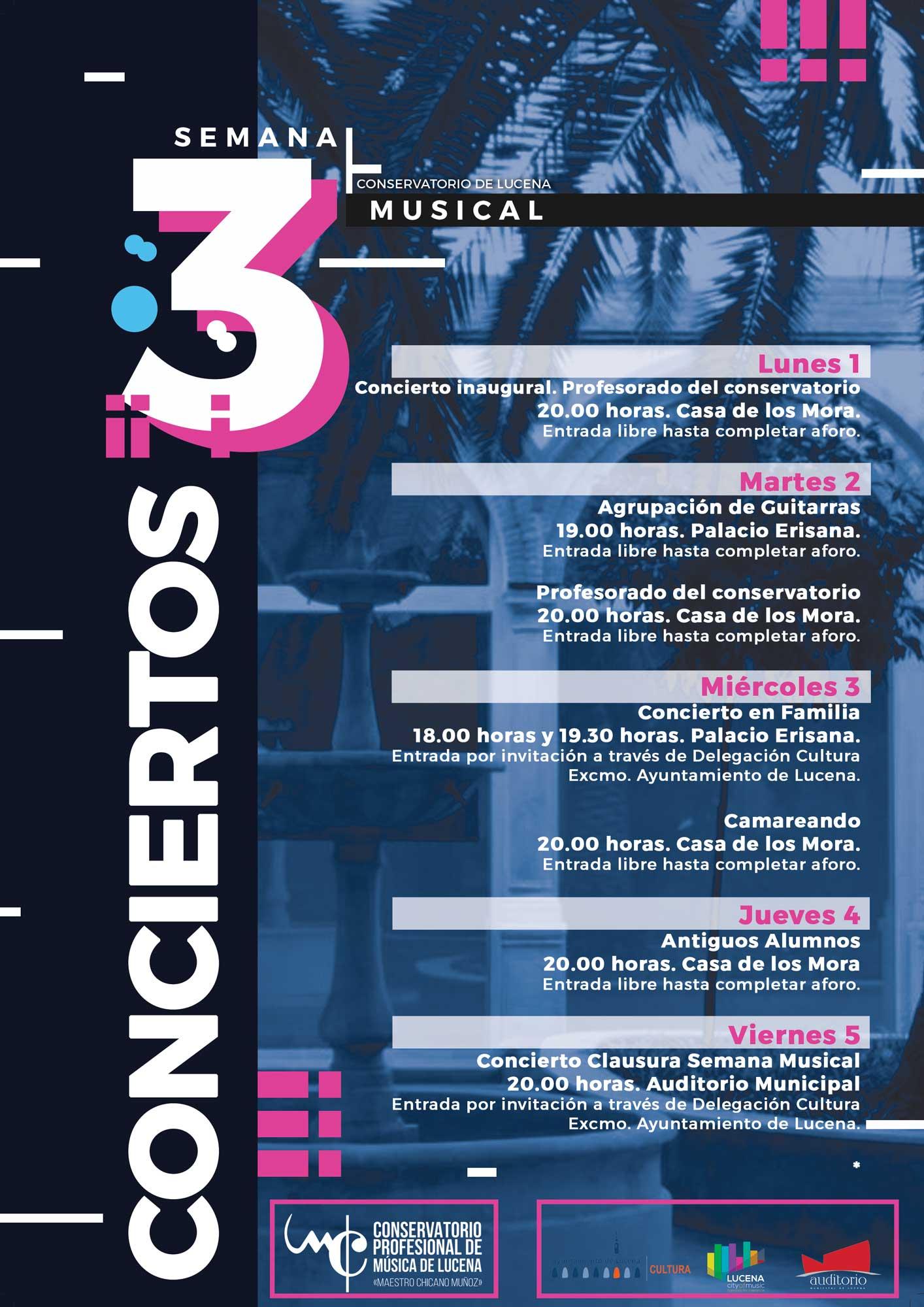 Conciertos de la III Semana Musical