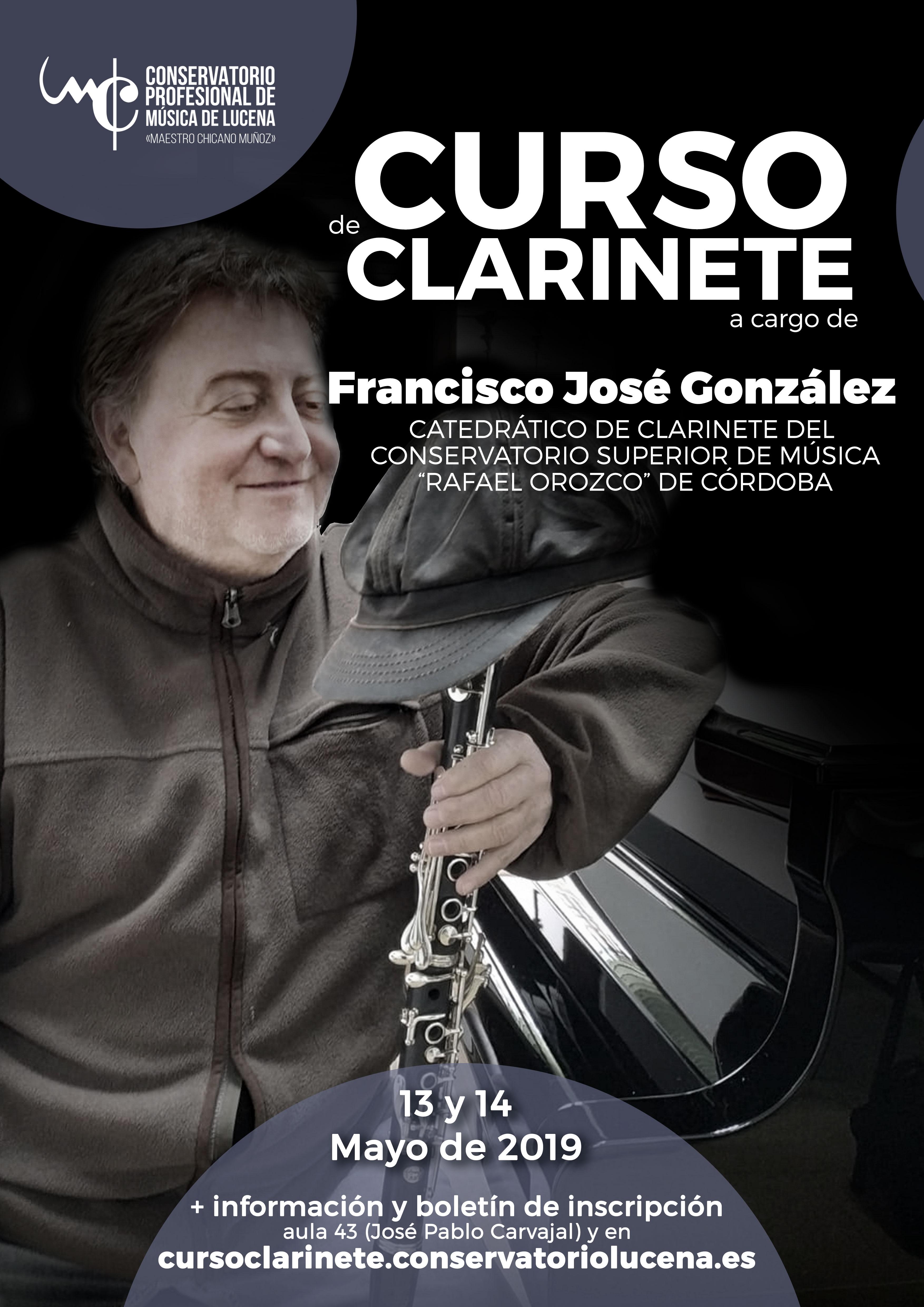 Curso de clarinete