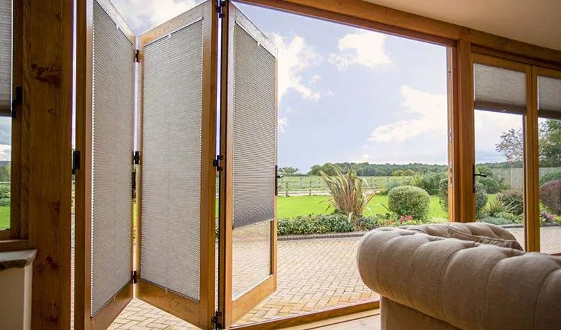 made to measure blinds for bifold doors