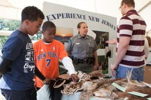 Tent Exhibit, NJ WILD Outdoor Expo