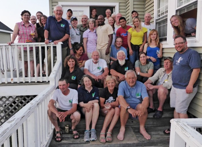 The 2015 Delaware Bay Shorebird Project Team