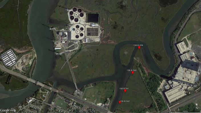 Maps of platforms near ACUA.