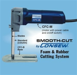 CFC Smoothcut Foam & Rubber Cutting System