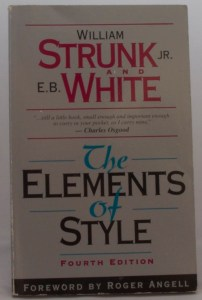 Strunk and White - The Elements of Style