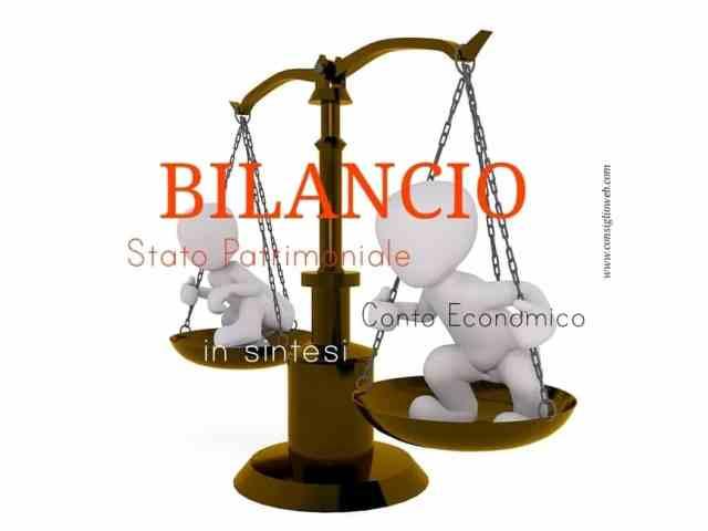 Bilancio esercizio aziendale: stato patrimoniale – conto economico