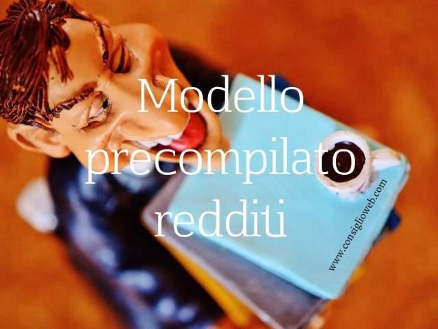 Precompilato modello: modello 730 precompilato – unico precompilato PF