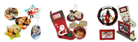 decorazioni natalizie con foto