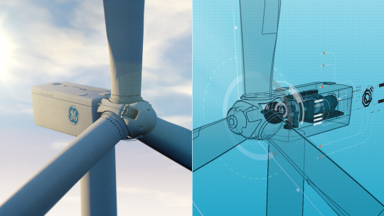 GE wind turbine digital twin
