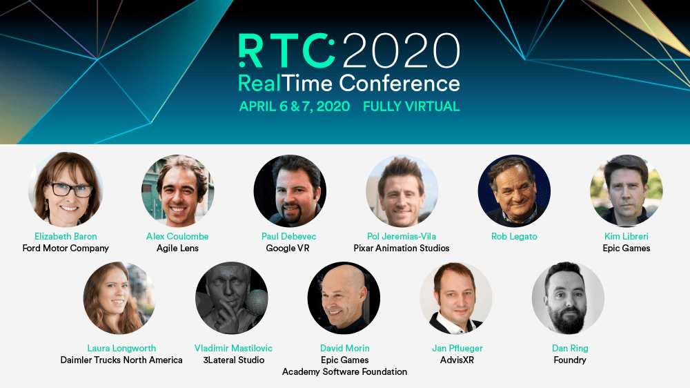 real time conference keynoters