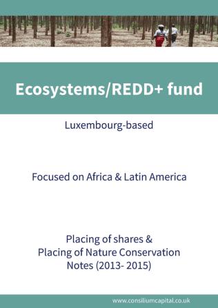 Ecosystems-REDD