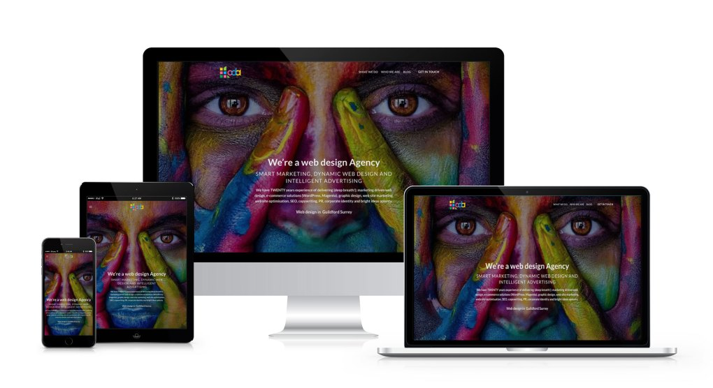 Responsive web design - Guildford Surrey