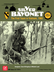 Silver Bayonet, 25th Anniversary Edition (new from GMT Games)