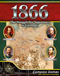 1866: The Struggle For Supremacy In Germany (new from Compass Games)