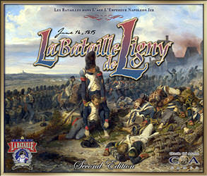 La Bataille de Ligny, 2nd Edition (new from Clash of Arms)