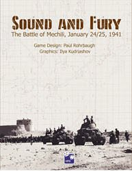 Sound and Fury (new from High Flying Dice Games)