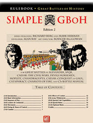 Simple Great Battles of History, 2nd Edition (new from GMT Games)