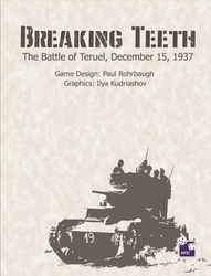 Breaking Teeth (new from High Flying Dice Games)