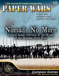 Paper Wars, Issue 86: Nomads No More (new from Compass Games)