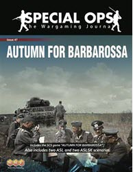 Special Ops #7, Autumn for Barbarossa (new from Multi-Man Publishing)