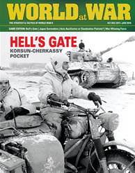 World at War, Issue 57: Escape Hell's Gate (new from Decision Games)