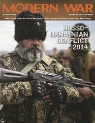 Modern War, Issue 34: Opaque War, Ukraine 2014 (new from Decision Games)