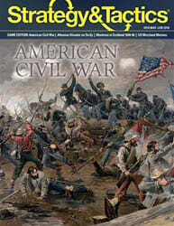 Strategy & Tactics, Issue 310: American Civil War (new from Decision Games)