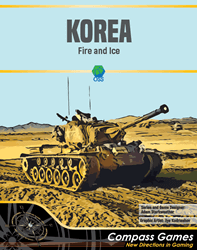 Korea: Fire And Ice (new from Compass Games)