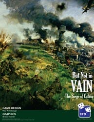But Not in Vain (new from High Flying Dice Games)