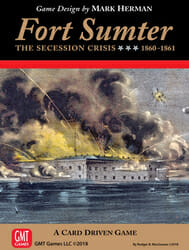 Fort Sumter: The Secession Crisis, 1860-61 (new from GMT Games)