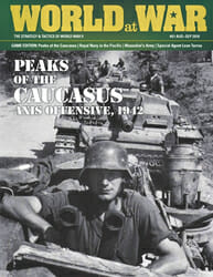 World at War, Issue 61: Peaks of the Caucasus (new from Decision Games)