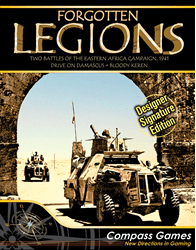 Forgotten Legions, Designer Signature Edition (new from Compass Games)