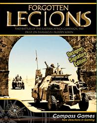 Forgotten Legions, Designer Signature Edition (new from Compass Games)