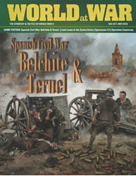 World at War, Issue 62: Spanish Civil War Battles (new from Decision Games)