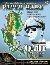 Paper Wars, Issue 90: MacArthur, The Road to Bataan (new from Compass Games)