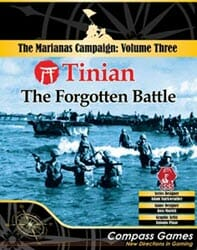 Tinian: The Forgotten Battle (new from Compass Games)