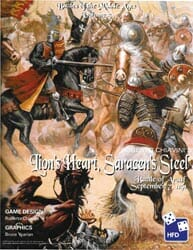 Lion's Heart, Saracens' Steel (new from High Flying Dice Games)