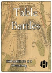 Table Battles Expansion No. 3: Gettysburg (new from Hollandspiele)