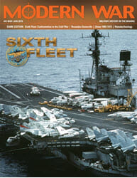 Modern War, Issue 41: Sixth Fleet (new from Decision Games)