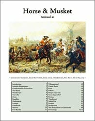Horse & Musket Annual #1 (new from Hollandspiele)