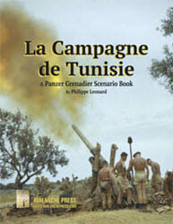 Panzer Grenadier: La Campagne de Tunisie Expansion (new from Avalanche Press)