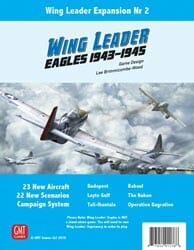 Wing Leader: Eagles Expansion (new from GMT Games)