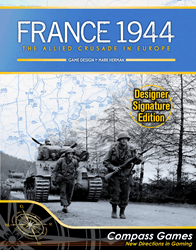 France 1944, Designer Signature Edition (new from Compass Games)
