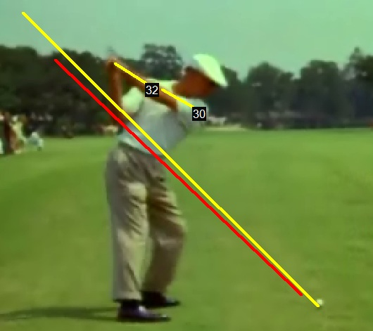 Ben Hogan Top Of Backswing