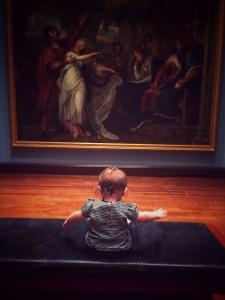 Baby Tour at Cincinnati Art Museum