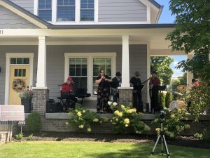 Porchfest in Carmel Indiana