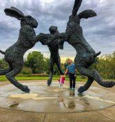 Weekend Trips From Cincinnati For Families Dublin Public Art Trail