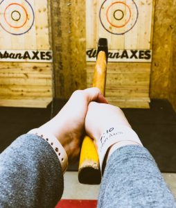 Axe Throwing at Urban Axes