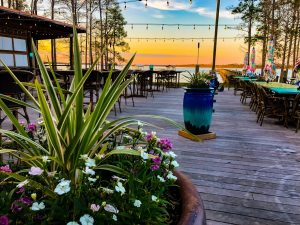Sunset at GT's on the Bay in Gulf Shores