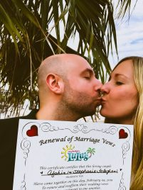 Vow Renewal at LuLu's in Gulf Shores